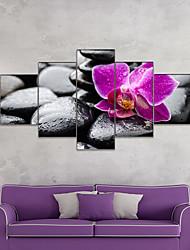 Недорогие -Amj горячая распродажа черная галька пентаграмма гостиная диван фон стены декоративные холст картина безрамное ядро