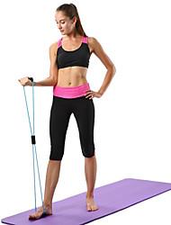Недорогие -Горячая йога фитнес сопротивление 8 слов расширитель груди веревка тренировки мышцы фитнес резиновые резинки для занятий спортом