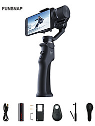 cheap -Funsnap 3-Axis Stabilizer 3 Combo Handheld Smartphone Gimbal Stabilizer for iPhone GoPro 7 6 5 sjcam EKEN Yi Action camera
