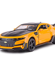 cheap -1:32 Toy Car Vehicles Car Race Car F1 car Race Car Glow Cute Parent-Child Interaction Zinc Alloy Rubber All Boys and Girls / Kid's