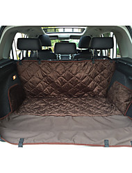 cheap -Pets Mattress Pad Car Seat Cover Bed Sofa Cushion Bed Blankets Waterproof Breathable Warm Pet Mats & Pads Plush Fabric Cotton Solid Colored Car Brown Black / Foldable
