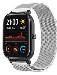 Недорогие -Ремешок из нержавеющей стали 20 мм из нержавеющей стали для ремешка Amazfit GTS Xiaomi Smart Watch