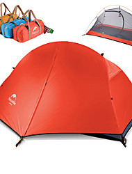 cheap -Naturehike 1 person Backpacking Tent Outdoor Windproof Rain Waterproof Quick Dry Double Layered Poled Dome Camping Tent 2000-3000 mm for Oxford cloth Nylon Oxford 205*156*110 cm