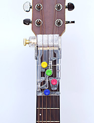 cheap -1Pcs Acoustic Guitar Chord Buddy Teaching Aid Guitar Learning System Teaching Aid Accessories for Guitar Learning
