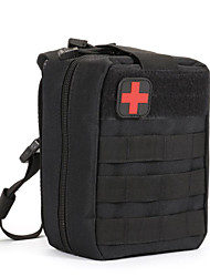 cheap -Oxford Cloth Zipper Emergency Survival Bag Striped Outdoor Black / Brown / Army Green