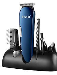 Недорогие -профессиональная машинка для стрижки волос для мужчин аккумуляторная электрическая бритва 5 в 1 машинка для стрижки волос машинка для стрижки бороды тример