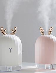 Недорогие -Высокое качество 220 мл ультразвуковой увлажнитель воздуха диффузор для домашнего автомобиля usb fogger создатель тумана со светодиодной ночной лампой
