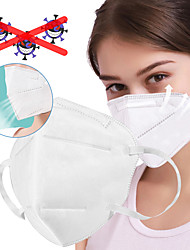 cheap -10 pcs KN95 CE FFP2 Mask KN95 Masks Respirator In Stock CE Certification Men's White / Filtration Efficiency (PFE) of >95%