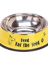cheap -Fish Bone Pattern Food Bowl for Pets Dogs