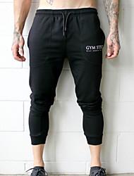 cheap -Men's Basic Chinos Pants - Print Black Beige Gray US36 / UK36 / EU44 US38 / UK38 / EU46 US40 / UK40 / EU48