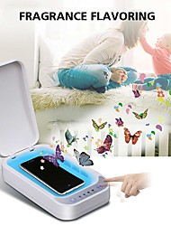 cheap -UV Disinfection Box Sanitizer Charger Prevent Flu For iPhone/Samsung Mobile Phone Headphones Mask Sterilizer Kill 99.9% Viruses