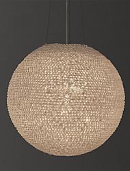 Недорогие -Austen Ding 4-Light 43 cm Глобус Дизайн Люстры и лампы Металл Мини Окрашенные отделки Винтаж / Modern общий