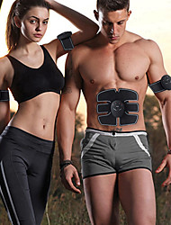 cheap -EMS Wireless Muscle Stimulator Abdominal Toning Belt Muscle Toner Body Muscle Fitness Trainer For Abdomen Arm Leg Unisex