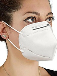 cheap -20 pcs KN95 CE FFP2 Face Mask Respirator Protection PM2.5 Protection In Stock CE Certification High Quality Unisex White / Filtration Efficiency (PFE) of >95%