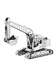 cheap -192 pcs Construction Vehicle Jigsaw Puzzle Simulation Metal Teenager Toy Gift