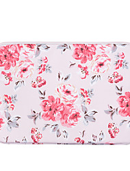cheap -11.6 13.3 14.1 15.6 inch Universal PU Leather Floral Print Water-resistant Shock Proof Laptop Sleeve Case Bag for Macbook/Surface/Xiaomi/HP/Dell/Samsung/Sony Etc