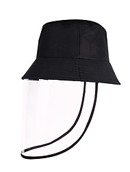 cheap -Men's Women's Work Basic Cotton Floppy Hat Sun Hat-Solid Colored Spring Summer Black