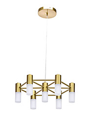 cheap -ZHISHU 7-Light 44.5 cm Cluster Design Chandelier Metal Candle-style / Cluster Gold Traditional / Classic / Nordic Style 110-120V / 220-240V