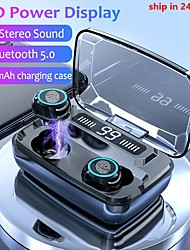cheap -M11-TWS Wireless Earbuds TWS Headphones Wireless Stereo with Microphone with Charging Box Waterproof IPX4 Sweatproof for Mobile Phone