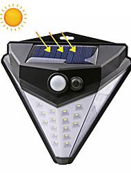 cheap -ZDM 1PC 38 LED Solar Powered 850lm PIR Motion Sensor Waterproof Wall Light Outdoor Garden Lamp 3 Modes Multilateral Lighting Wall Lamp Garden
