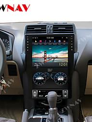 Недорогие -zwnav 15.6 дюймов 1din tesla style 4 ГБ 64 ГБ Автомобильный DVD-плеер GPS-навигатор Автомобильный MP5-плеер Автомобильный мультимедийный проигрыватель HD для Toyota Land Cruiser Prado 150 2018-2019