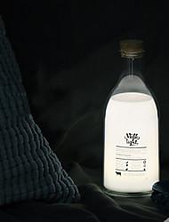 Недорогие -1 шт. Новая странная бутылка молока со спящим светом сообщения / сделай сам подарок на день рождения девушке со спящим светом / USB зарядка ночника