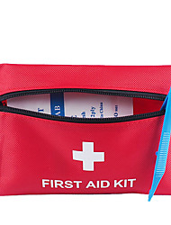 cheap -Canvas Pattern / Print / Zipper Emergency Survival Bag Outdoor Red