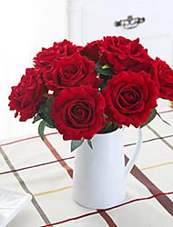 Недорогие -Роза ночная роза искусственный цветок домашнего интерьера свадьба