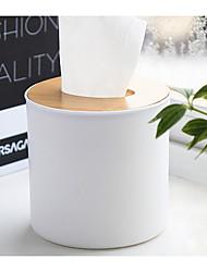 Недорогие -коробка для чистки салфетки для кухни круглая форма деревянная крышка