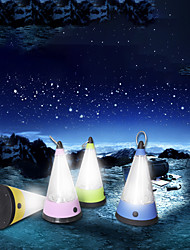 Недорогие -Походные светильники и лампы Светодиодная лампа LED излучатели Портативные Прочный Походы / туризм / спелеология Повседневное использование Велосипедный спорт Лиловый Желтый Синий