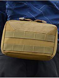 cheap -Oxford Cloth Zipper Emergency Survival Bag Solid Color Daily Black / Army Green / Khaki