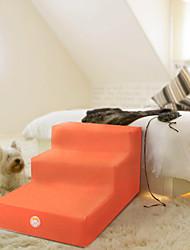 Недорогие -Собаки Лестницы, ступени и лестницы Компактность Нескользящий Спортивный Симпатичные Стиль пена Оранжевый 1 шт.