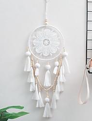 cheap -Boho Dream Catcher Handmade Gift Wall Hanging Decor Art Ornament Craft Bead 65*20cm for Kids Bedroom Wedding Festival