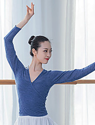 cheap -Ballet Top Bandage Women's Training Performance Long Sleeve Polyester