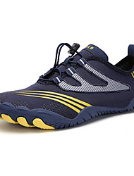 cheap -Men's / Unisex Fall / Spring & Summer Sporty / Casual Daily Outdoor Trainers / Athletic Shoes Hiking Shoes / Upstream Shoes Mesh Breathable Non-slipping Shock Absorbing Black / Army Green / Dark Blue