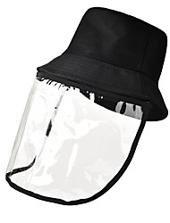 cheap -Unisex Basic Straw Hat-Solid Colored All Seasons Black White Yellow