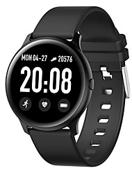 cheap -KW19 Unisex Smartwatch Android iOS Bluetooth Heart Rate Monitor Blood Pressure Measurement Sports Exercise Record Camera Timer Stopwatch Pedometer Call Reminder Sleep Tracker
