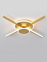 cheap -50 cm Line Design Flush Mount Lights Metal Modern Style / Linear Brushed / Painted Finishes LED / Modern 110-120V / 220-240V