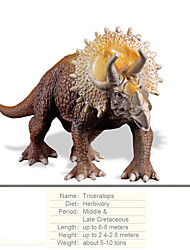 cheap -Dragon & Dinosaur Toy Model Building Kit Dinosaur Figure Triceratops Jurassic Dinosaur Dinosaur Tyrannosaurus Rex Large Size Plastic Kid's Party Favors, Science Gift Education Toys for Kids and Adults