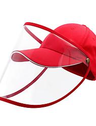 cheap -Cotton Protective Baseball Cap-Red