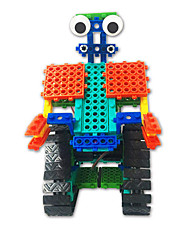cheap -Building Blocks Educational Toy 137 pcs Robot compatible Plastic Shell Legoing Focus Toy Hand-made All Toy Gift