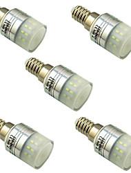 cheap -5pcs 3 W LED Corn Lights 300 lm E14 T 36 LED Beads SMD 3014 Decorative Warm White White 220-240 V