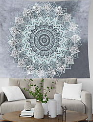 cheap -Cootime Mandala Tapestry  Hippie Bohemian Flower Psychedelic Indian Dorm Decor for Living Room Bedroom
