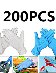 cheap -200PCS Disposable Latex Gloves Rubber Gloves Cleaning Gloves Work Gloves