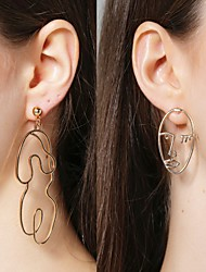 cheap -Women's Earrings Holiday Wedding Birthday Romantic Earrings Jewelry White / Yellow / Gold For Date Street Festival 1 Pair