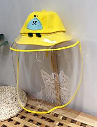 cheap -Toddler Unisex Cartoon Hats & Caps Yellow / Blushing Pink / Orange One-Size