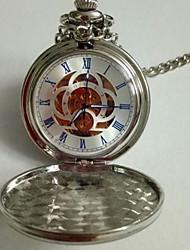 Недорогие -Универсальные Карманные часы Механические, с ручным заводом Старинный Нержавеющая сталь Творчество Новый дизайн Повседневные часы Аналоговый На каждый день - Золотой Синий