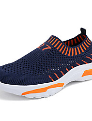 cheap -Boys' Comfort Mesh Trainers / Athletic Shoes Little Kids(4-7ys) / Big Kids(7years +) Running Shoes / Walking Shoes Black / Red / Orange Summer / Fall / Slogan / Rubber