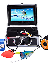 cheap -Portable 7 inch LCD Monitor Fish Finder Waterproof Underwater 1000TVL Fishing Camera 15m Cable 12pcs IR Infrared LED for Fishing