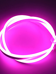 cheap -3m Flexible LED Light Strips Neon Strip Lights 360 LEDs 2835 SMD 8mm 1Set Mounting Bracket 1 set Warm White White Red St. Patrick's Day Christmas Waterproof Outdoor Cuttable 12 V
